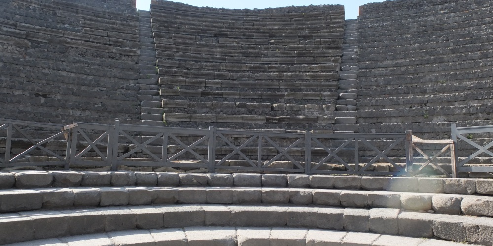 Theatre in Pompeii